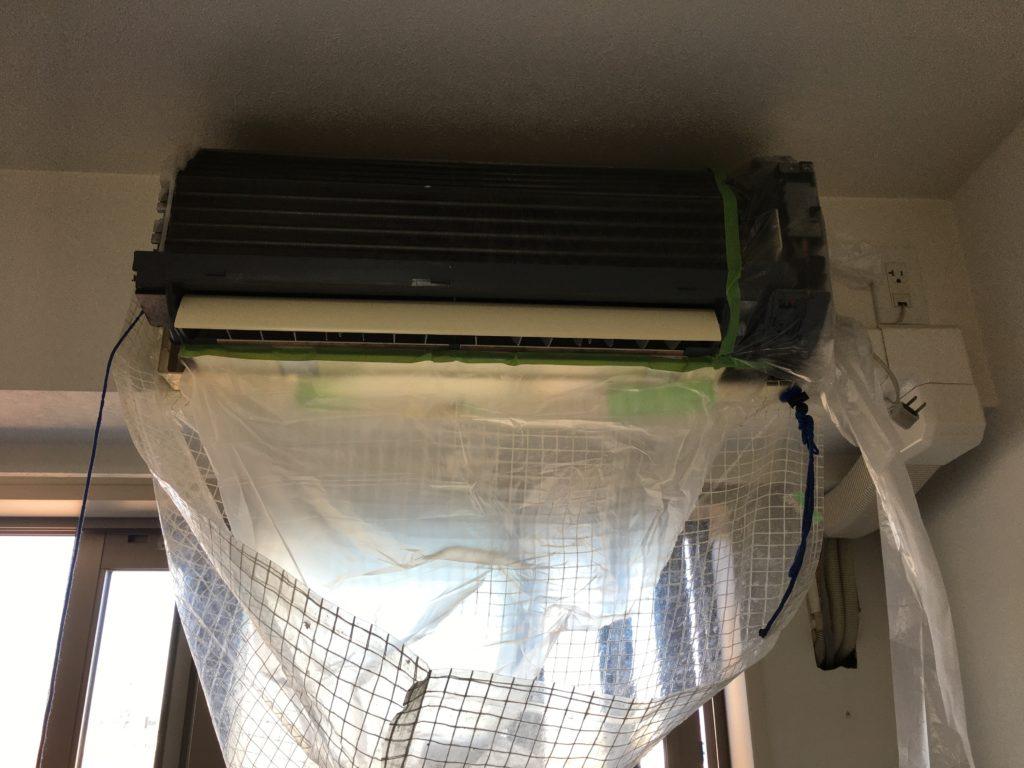 エアコン分解洗浄3