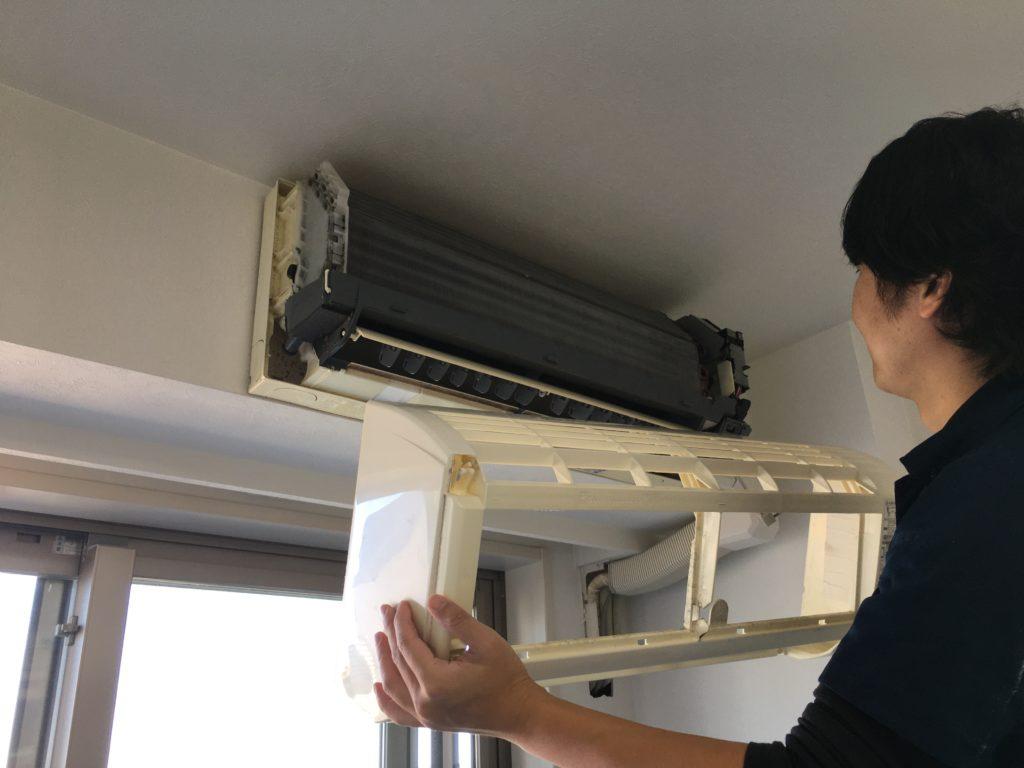 エアコン分解洗浄2