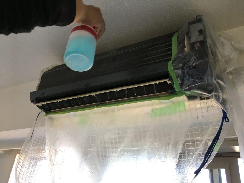 エアコン分解洗浄5